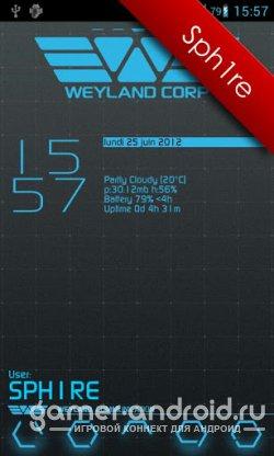 Weyland GO Launcher EX theme - тема для Go Launcher