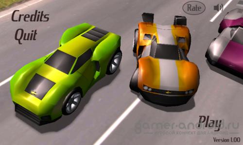 Lane Racer - убойные гонки