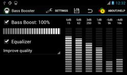 Bass Booster - эквалайзер