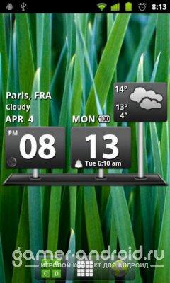 Billboard Digital Weather Widg - Часы, Погода, Календарь