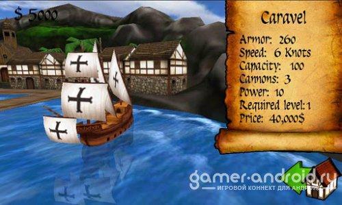 Age of Wind 2 - боевые сражения на воде