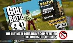 Golf Battle 3D - уникальные гольф соревнования