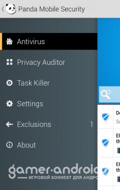 Panda Mobile Security - антивирус для платформы Android