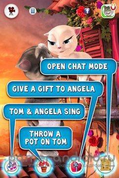 Том любит Анджелу - Говорящие друзья - Говорящий кот Том