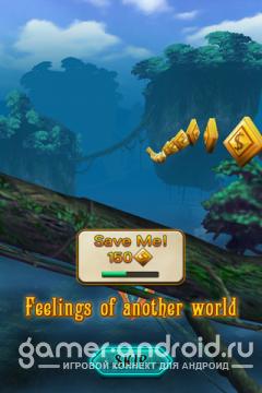 "Jungle Fly - игра в стиле ""Runner"", очень похожа на Temple Run, Subway Surfers"