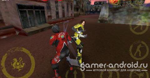 Battle for Rebirth - драки в 3d ( Джина мастер боевых искуств )