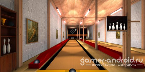 Ninepin Bowling - Кегли - неплохой симулятор боулинга