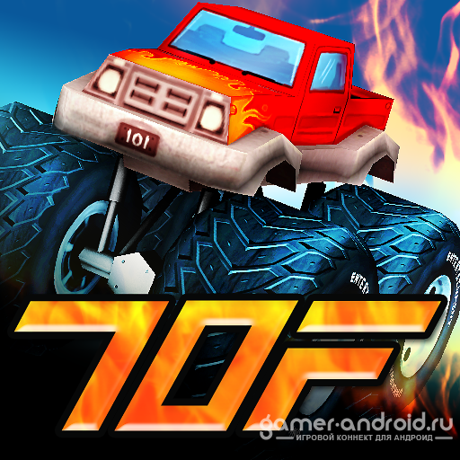 Tires of Fury Monster Truck Racing