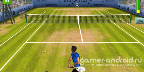 First Person Tennis 2 - очень хороший теннис для Android