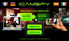 iCamSpy Pro full- программа для подглядывания через вебкамеру