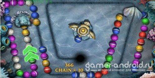 Marble Blast Saga - очень интересная логическая игра