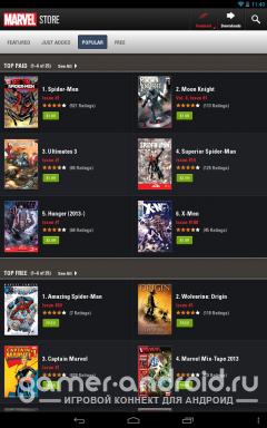 Marvel Comics - все комиксы про супер героев от Marvel