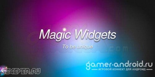 Magic Widgets Погода будильник - создайте собственные виджеты