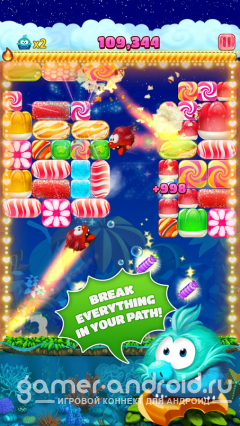 Candy Block Breaker для Tango