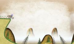 Stickman Downhill - Стикман теперь на байке