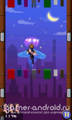 Super hero jump:city escape - спасите девушек