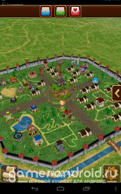 Третий Мир: Война Королей 3D - популярная 3Д стратегия