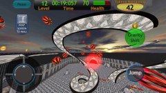 RoverBall3D - собираем монетки и уворачиваемся от шаров