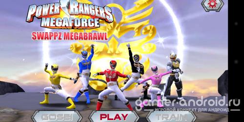 Power Rangers:Swappz MegaBrawl - Могучие Рейнджеры