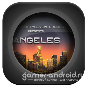 Angeles GO LauncherEX Theme