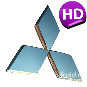 3D MITSUBISHI Logo HD LWP