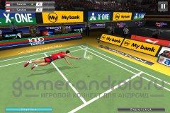 Badminton: Jump Smash - бадминтон для Android