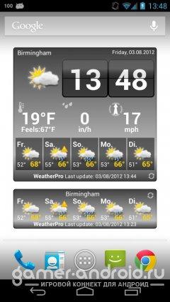 WeatherPro - самый точный прогноз погоды на 7 дней
