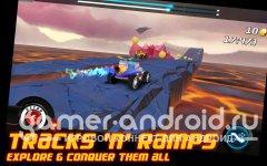 Hot Mod Racer - отличные гонки с прыжками с трамплинов