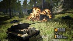 World Of Tank War - отличные боевые сражения с системой модернизации
