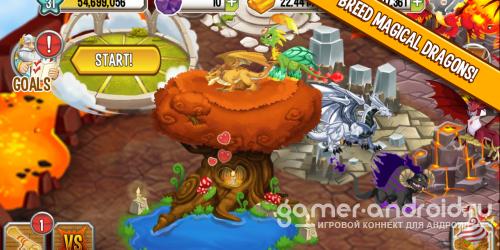 Dragon City - Волшебный мир Драконов