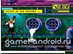 comix zone - игра с Sega