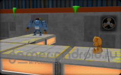 Robo & Bobo - помоги роботу вернуть его игрушку