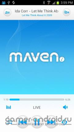 3D MAVEN Music Player Pro