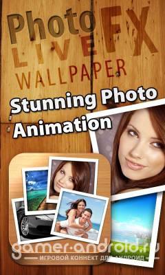 Photo FX Live Wallpaper - сделать живые обои для Android самому
