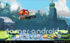 Параллакс обои: Angry Birds Go
