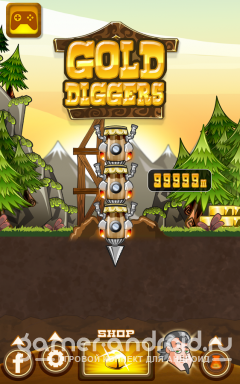 Gold Diggers - игра для Android