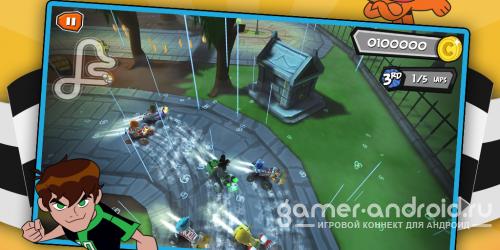 Formula Cartoon All-Stars - увлекательные гонки для Android