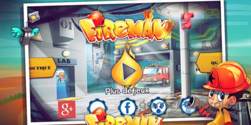 Пожарный - симулятор пожарника