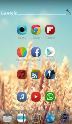 Stock UI Icon Theme Apex Nova - значки для тем android