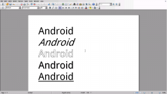 AndrOpen Office - офис для Android