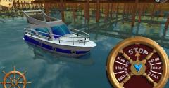 3D Boat Parking Ship simulator - парковка лодок