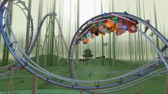 Coaster Crazy Deluxe - аттракционы