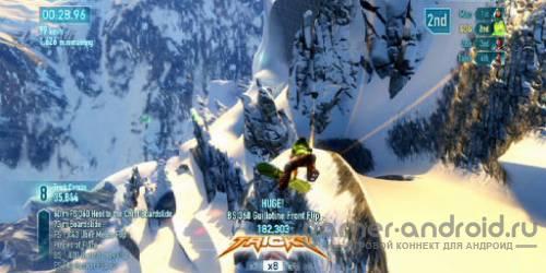 SSX By EA Mobile  - Симулятор сноуборда