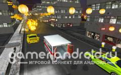 Ambulance Street Gun Racer