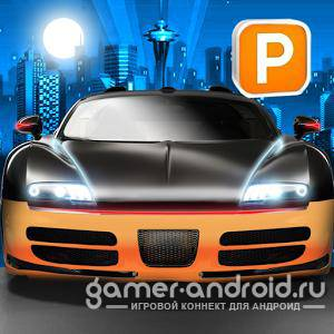 3D Night Parking City Car Game