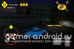 3D Night Parking City Car Game