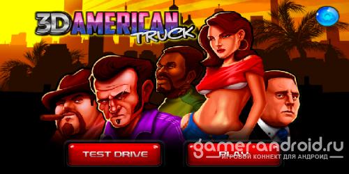 American Great Truck 3D