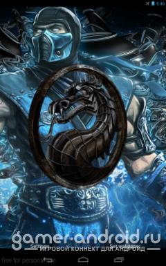 Mortal Kombat 3D Live Wallpaper