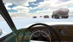 Russian Winter Traffic Racer