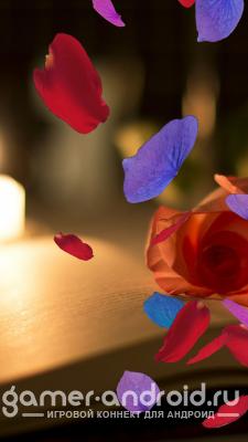 Falling Petals Live Wallpaper